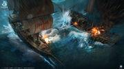 ACRG Naval Conflict - Concept Art