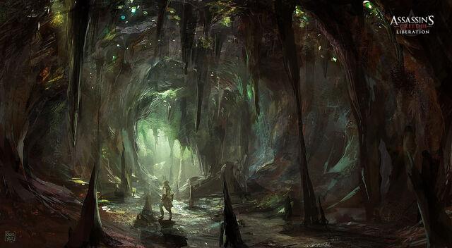 File:AC3L Worm Cave - Concept Art.jpg