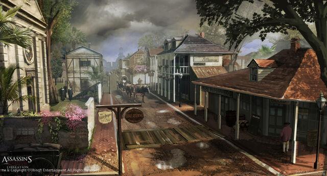 File:Assassin's Creed III Liberation Concept Art by EddieBennun.jpg