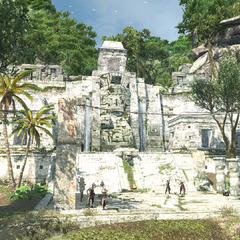 A Mayan temple in Tulum