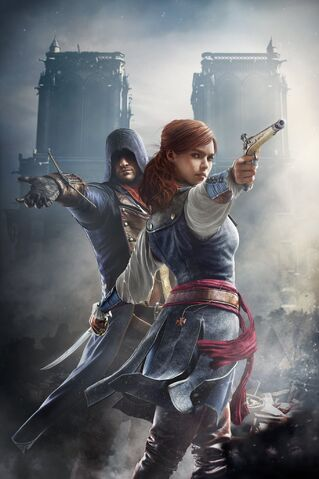 File:Arno and Elise - Unity Promotional Art.jpg