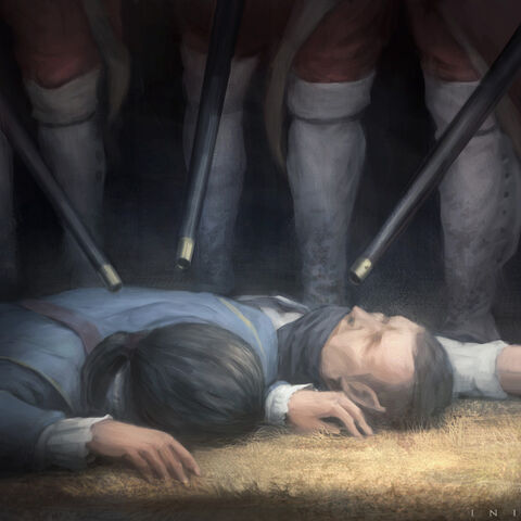 海瑟姆和史密斯被擒获
