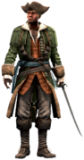AC4 Privateer Captain render