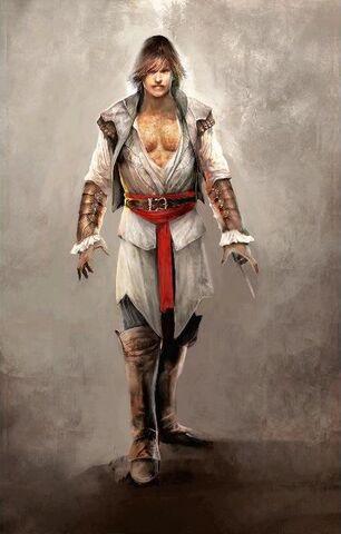 File:Assassin Ezio - Early ACII Concept Art.jpg