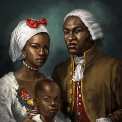 一幅描绘阿基里斯家庭的油画