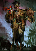 AC4 Witch Doctor - Concept Art