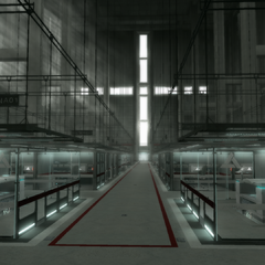 De Animi-ruimte in de Abstergo-faciliteit in Rome