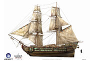 Assassin's Creed IV Black Flag -Ship- MerchantShipping by max qin