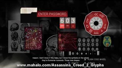 Assassin's Creed 2 Walkthrough - Glyph Puzzle 18 HD