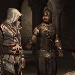 Lorenzo vraagt om Ezio's hulp.