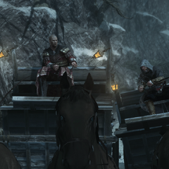 Ezio probeert Leandros te pakken te krijgen