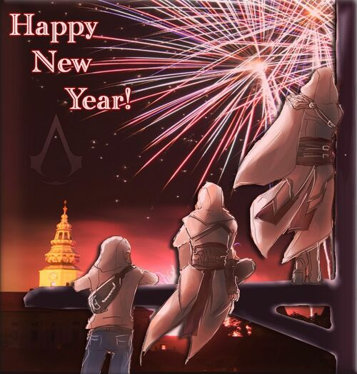 Happy New Year - Kaloneous Designs
