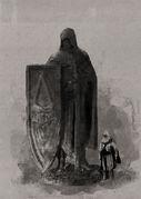 ACB Assassin Statue - Concept Art