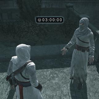 Altaïr krijgt de opdracht van de informant.