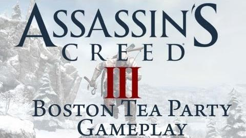 Assassin's Creed 3 - Boston Tea Party Gameplay