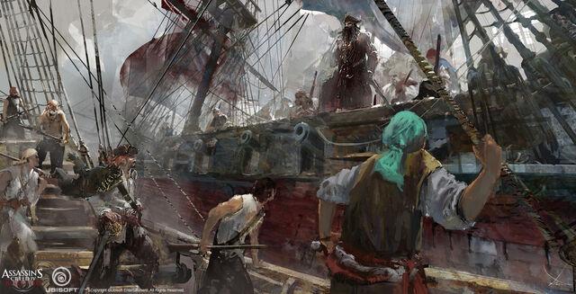 File:Assassin's Creed IV Black Flag - Concept art 8 by kobempire.jpg