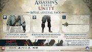 Assassin's Creed Unity Royal Arsenal Pack