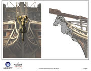 Assassin's Creed IV Black Flag -Ship-Jackdaw - Figurehead 1 by max qin