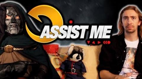 'ASSIST ME!' - Rocket Raccoon and Frank West Ultimate Marvel vs Capcom 3 Live Action Tutorial-0