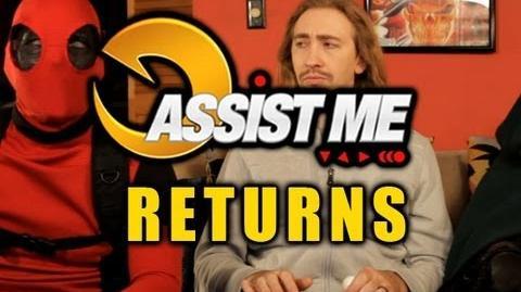 'ASSIST ME!' Season 2 Trailer Featuring Deadpool