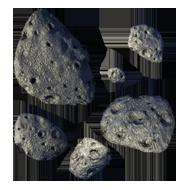 Astro asteroid-belt medium