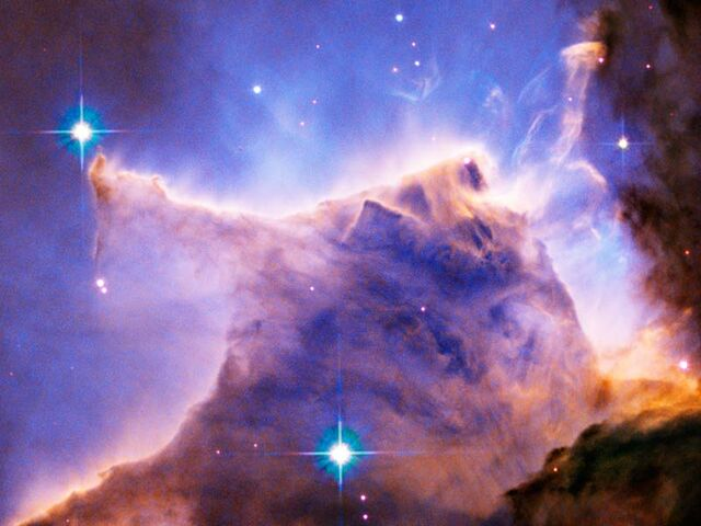 File:Eagle Nebula ---M16 --Pillar Detail-- Portion of Top.jpg