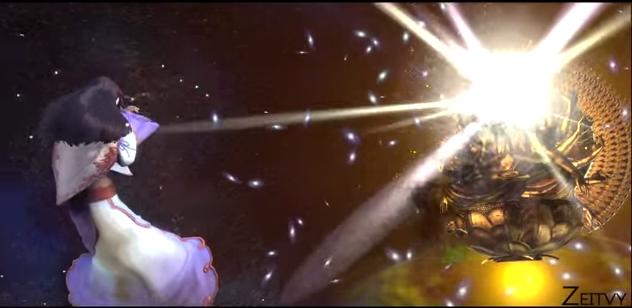 File:Asura's Wrath Golden Chakravartin Destruction.png