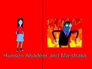 Hunson Abadeer and Marsha