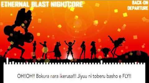 Nightcore - One Piece OP 19 BACK-ON「Departure」With Lyrics