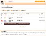 Message inbox