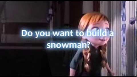 Do you want to build a snowman lyrics - -Frozen- - -HD-