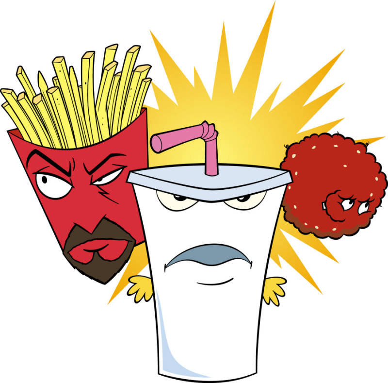 Aqua teen hunger force theme