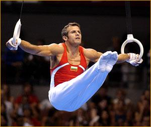 Mens Rings Gymnastics
