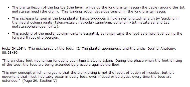 Foot Windlass Mechanics Explained