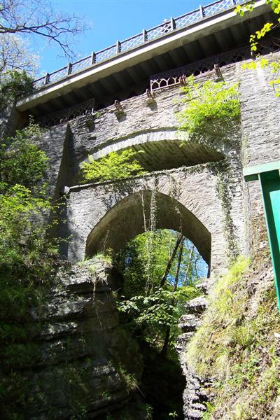 Three Bridges of Devil's Bridge, Ceredigion