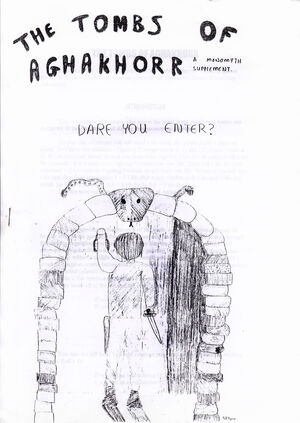 The Tombs Of Aghakhorr cover