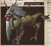 Aged earth dragon