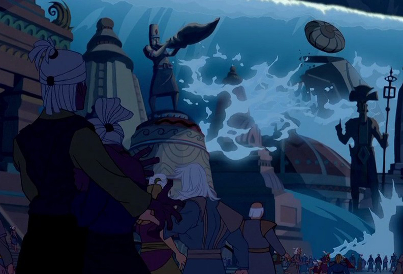 an overview of the atlantis myth The great cataclysm (sometimes just the cataclysm, great fall, great flood, the flood or great deluge) caused atlantis to be submerged into the.
