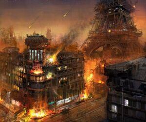 Paris destroyed