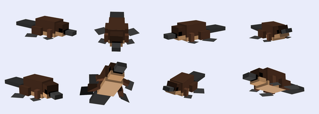 File:Minecraft model platypus request by perrysecret by grimmjow747-d5fgxu4.png