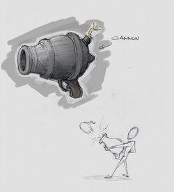 Bomb Cannon