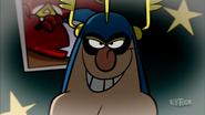 Claude's Devilish grin