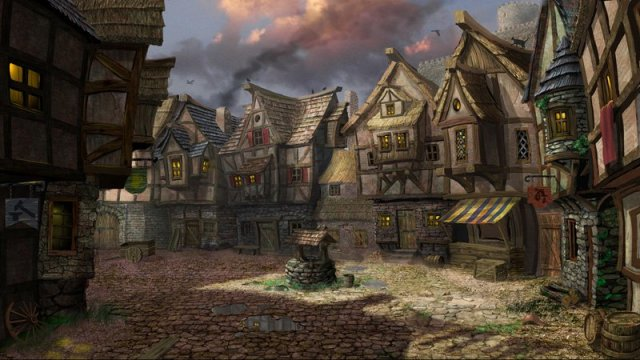 File:640x360 5998 Alba 2d fantasy architecture village well picture image digital art.jpg