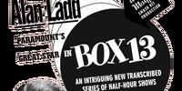 Box 13