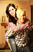 Vanessa Marano and Riker Lynch