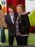 Calum Worthy and Ross Lynch