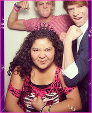 Raini-Rodriguez-Birthday-With-Ross-Lynch-Calum-Worthy