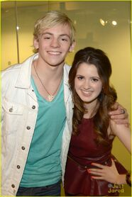 Ross Lynch and Laura Marano - Sirius XM (5)