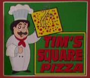 Tim's square pizza