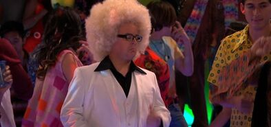 Chuck on the dance floor; Mysteries-Meddling Kids